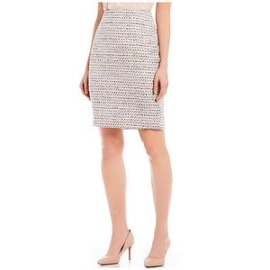 Karl Lagerfeld Paris Tweed Pencil Skirt, Sz 16 NWT
